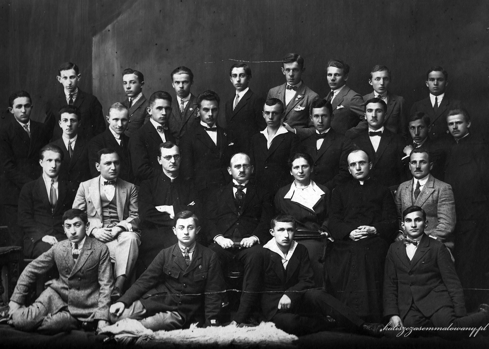 Matura Asnyk 1923