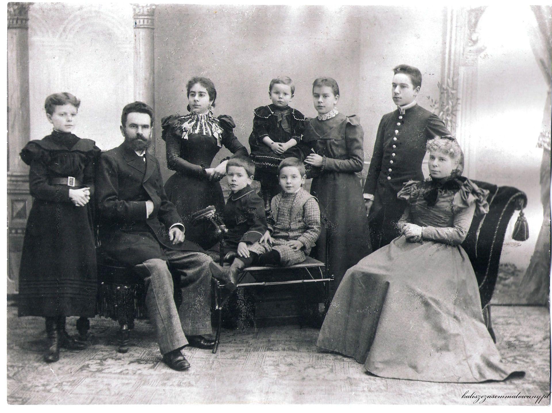 Wincenty Boretti z rodzina