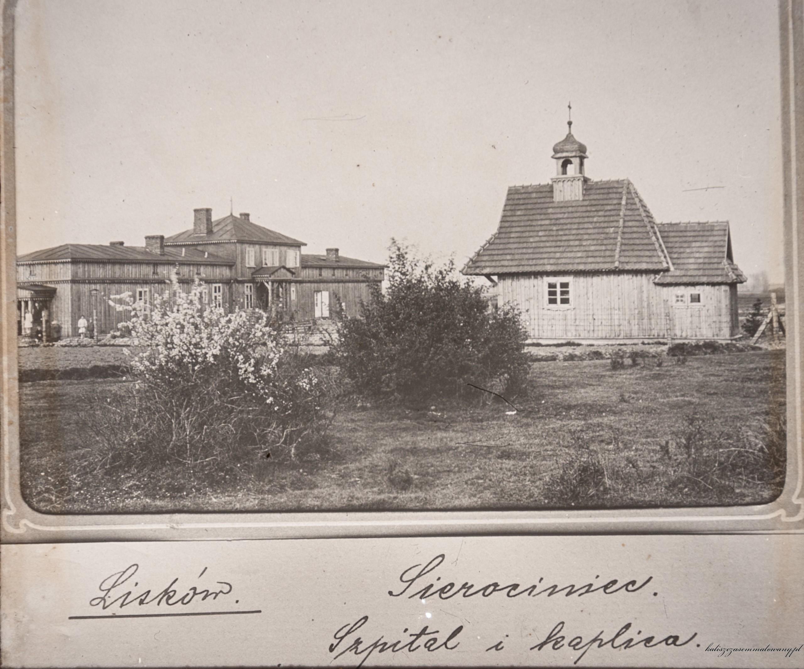 08 Liskow sierociniec szpital i kaplica