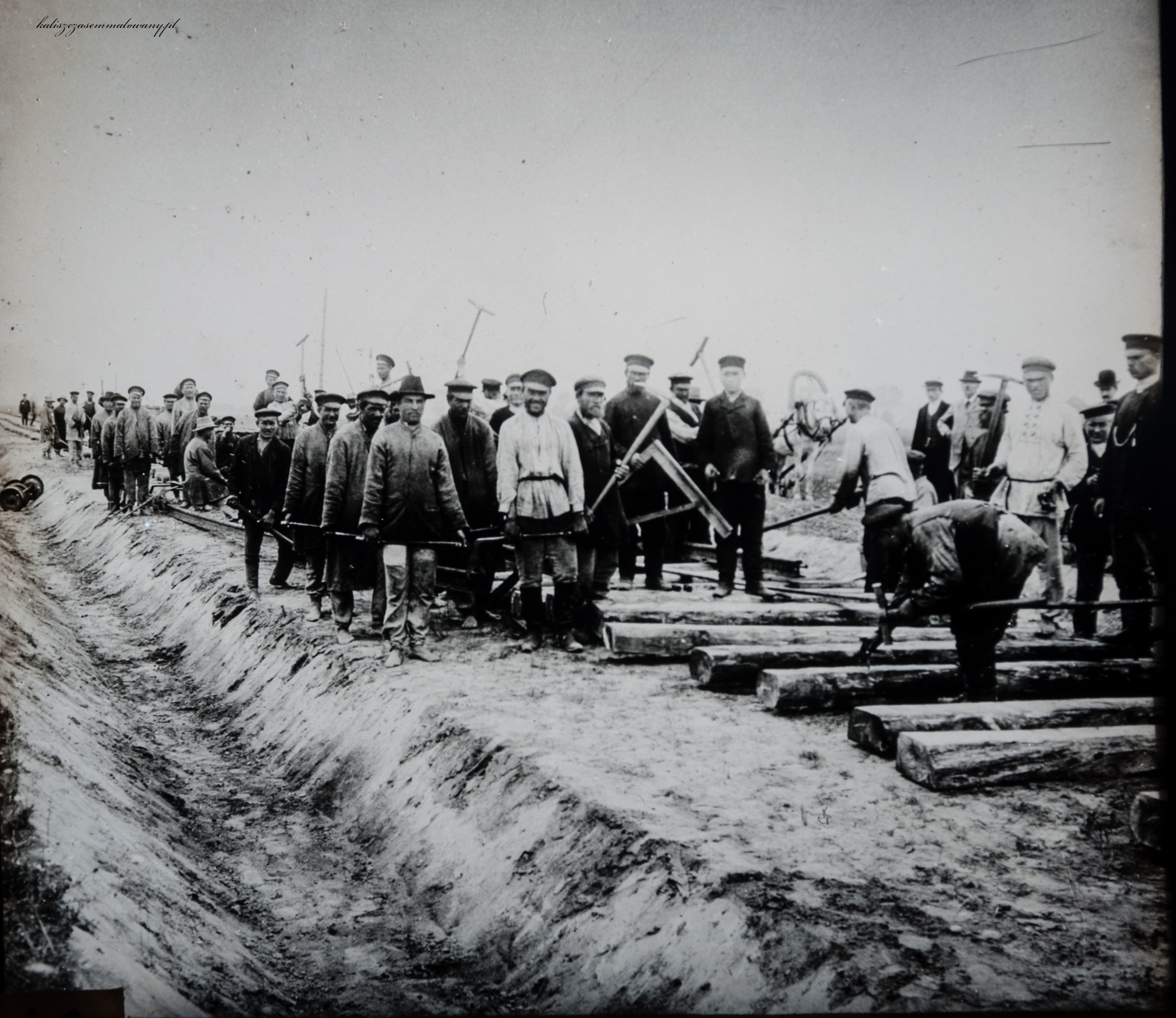 Budowa kolei w Kaliszu